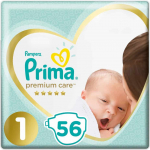Prima Premium Care 1 Beden Yenidoğan 56 Adet
