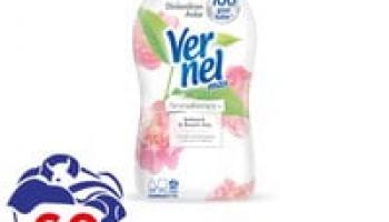 Vernel Max Şakayık & Beyaz Çay Konsantre Çamaşır Yumuşatıcısı 1440ml, 60 Yıkama