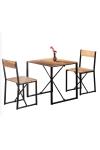 Weblonya Mutfak Masası 2 Kişilik Masa Takımı