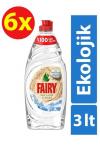 Fairy Ekolojik Sıvı Deterjan 500 ml x 6 Adet