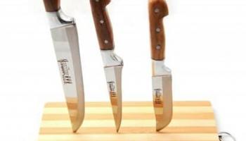 Lazoğlu 3'Lü Bıçak Seti