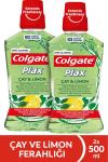 Colgate Plax Çay & Limon Alkolsüz Gargara 500 ml x 2 Adet