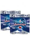 Finish Quantum 100 Tablet Bulaşık Makinesi Deterjanı X 2 Adet | Trendyol