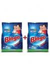 Bingo Matik Toz Çamaşır Deterjanı Renkli & Beyaz 10 kg x 2'li (134 Yıkama)