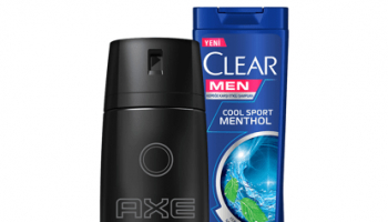 Axe Erkek Deodorant Sprey Black 150 ml + Men Şampuan Cool Sport 180 ml Set x 2