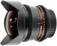 Samyang 12mm T3.1 Fisheye Video Lens, Canon EF Uyumlu