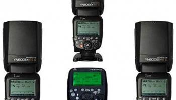 Yongnuo YN600-EX RT II + YN-E3-RT II 3+1 Canon Uyumlu Flaş Seti