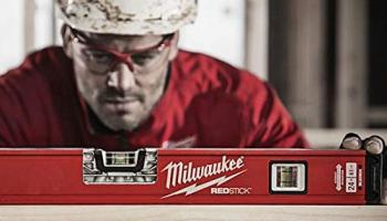 Milwaukee T4932459085 Ağır Hizmet Tipi Redstıck Kompakt Su Terazisi Manyetik 100cm
