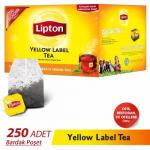 Lipton Bardak Poşet Çay Yellow Label 250'li