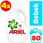 Ariel Baby 20×4 (80 Yıkama) Sıvı Çamaşır Deterjanı Bebekler İçin