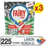 Fairy Bulaşık Makinesi Deterjanı Platinum Plus 225 Adet Bulaşık Makinesi Deterjanı