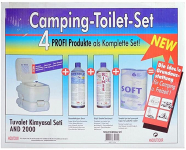 AndOutdoor Kamp Tuvalet Kimyasalı Tuvalet Kimyasalı, Unisex, Mavi, Tek Beden