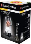 Russell Hobbs 24721-56 Horizon El Blender'ı, 1,5lt, Krom Aksamlı/Cam, 2 Hızlar, Beyaz