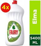 Fairy 4×1350 ml (5400 ml) Sıvı Bulaşık Deterjanı Elma Avantaj Paketi