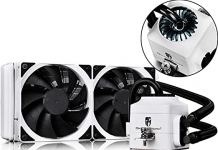Deep Cool DP-GS-H12L-CT240W-A4 DEEP COOL CAPTAIN240EX WHITE Soket Intel ve AMD , Su bazli İşlemci Soğutucusu 2.4