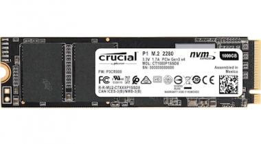 Crucial P1 CT1000P1SSD8 1 TB M.2 NVMe PCIe SSD