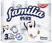 Familia Plus 3 Katlı Tuvalet Kağıdı, 24'lü, 1 Paket (1 x 24 Adet)