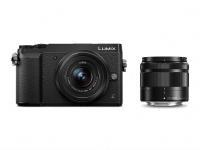 Panasonic Lumix DMC-GX80WEGK Fotoğraf Makinası Aynasız, 16 Megapixel, 4K, Kit 12-32 mm + 35-100 mm