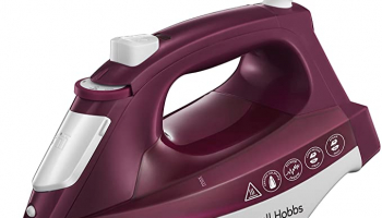 Russell Hobbs 24820-56 Light & Easy Buharlı Ütü, 2400 W, 240ml, Seramik Taban, Lila