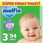 Molfix Bebek Bezi 3 Beden Midi Annelerin Tercihi Paketi 188 Adet