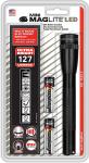 Mag-Lite Mini 2AA LED, 97 lümen, 17 cm siyah, 2 AA pil ve naylon kılıf dahil, SP2201HL