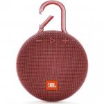 JBL Clip 3 IPX7 Su Geçirmez Taşınabilir Bluetooth Hoparlör Kırmızı