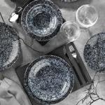 Kütahya Porselen Nano Krem 24 Parça Yemek Takımı 891020