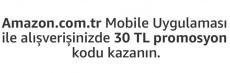 Amazon.com.tr 30 TL indirim çeki – Mobil Özel
