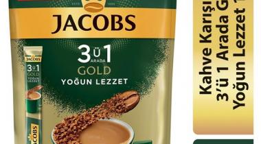 Jacobs Gold 3ü 1 arada Yoğun Lezzet 18g x 10 Adet