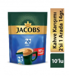 Jacobs 2'Si 1 Arada Classic 10'Lu Paket