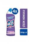 ACE Ultra Power Jel Kıvamlı Çamaşır Suyu Çiçek Kokulu  810g (4 adet)