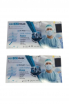 Medmask 3 Katlı Telli Tek Kullanımlık Cerrahi Koruyucu Maske -100 Adet – CE & TSEli