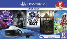 PlayStation VR Mega Pack 2 [PS VR + Kamera + 5 dijital oyun (VR Worlds  + Skyrim + Astrobot + Everybody's Golf + Resident Evil 7)